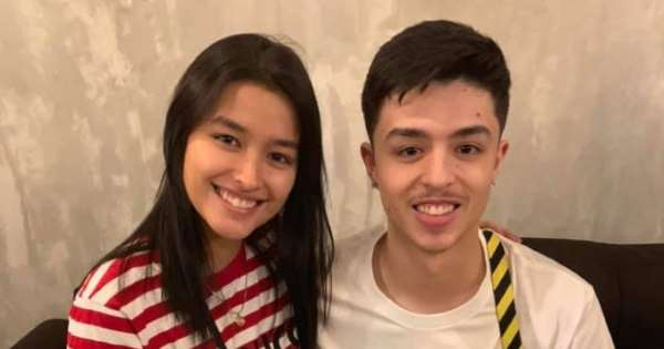 What is the relation of Nathaniel Larry Osorno with Liza Soberano?
