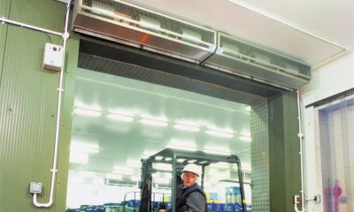 Mars Air Curtain Improve Your Cold Store's Efficiency