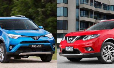 Toyota RAV4 vs Nissan X–Trail