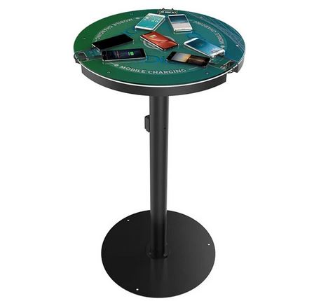 What to expect from a cocktail charging table