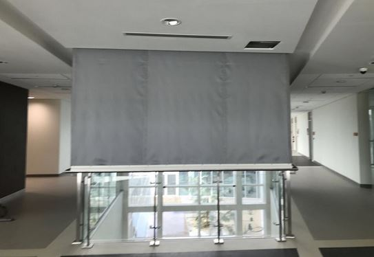 smoke curtains online for your building