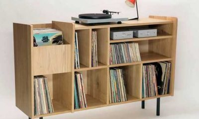 5 Ideas for a Classic DIY Vinyl Record Player Cabinet