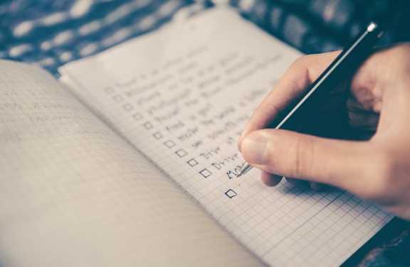 Camping kitchen checklist