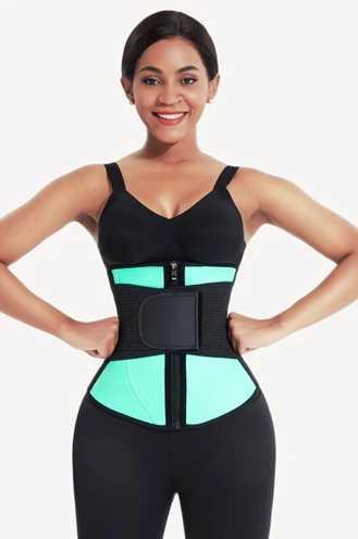 Neosweat® adjustable sweat belt waist cincher
