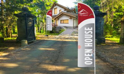 Why Feather Flags Assist And Support The Real Estate Agents