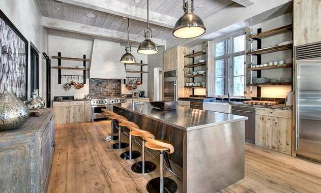 Tips for Getting that Industrial-Style Kitchen Look